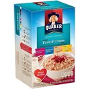 Quaker Instant Oatmeal - Fruit & Cream Variety (8x35g)