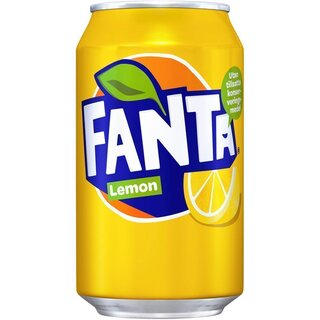 Fanta Lemon 24 x 330 ml - EU
