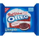 Oreo Red Velvet Cream Cheese Sandwich Cookies - Limited...