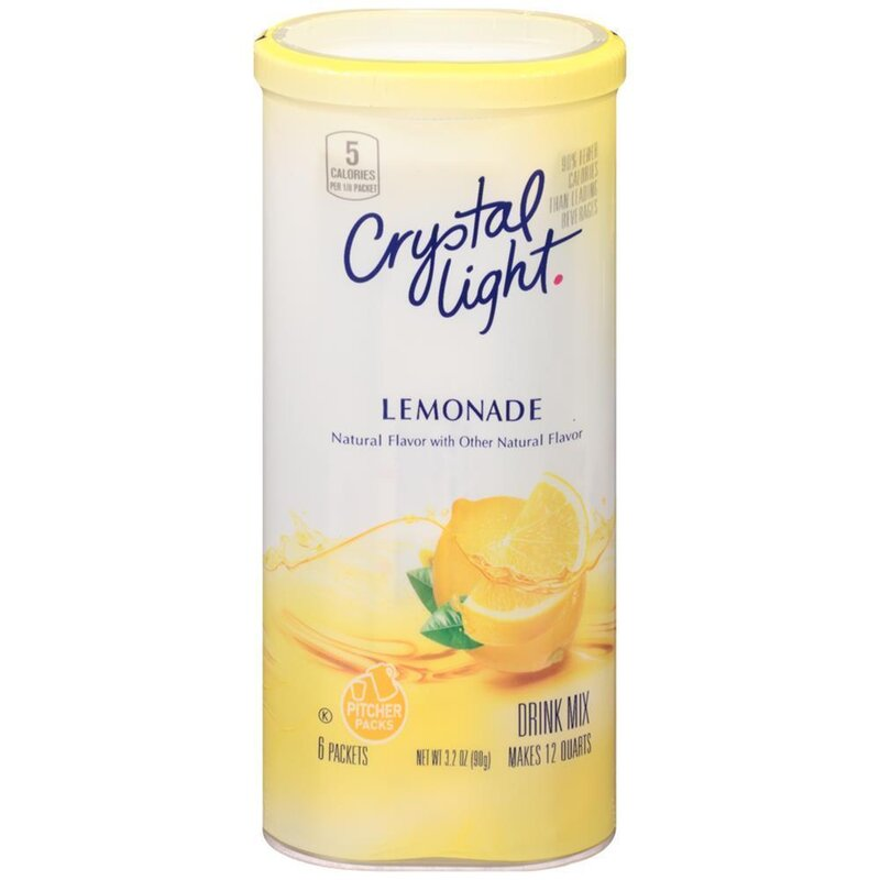 Crystal Light - Lemonade Drink Mix - 1 x 58 g