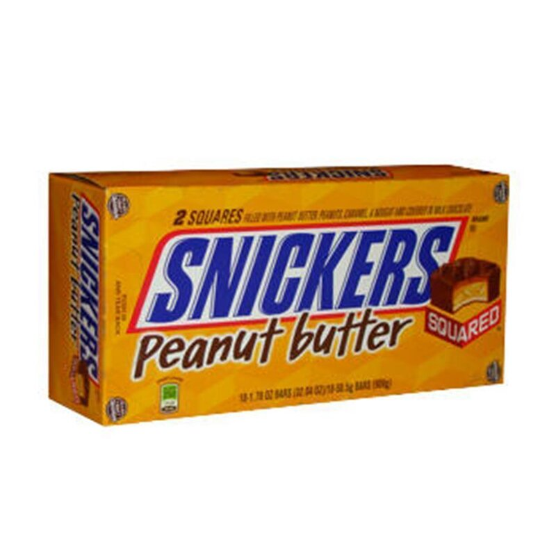 Snickers Peanut Butter Squared (18 x 50,5g)