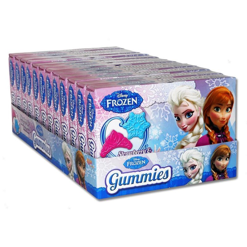 Disney Frozen - Gummies  (12 x 70g)
