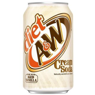A&W Cream Soda DIET 24 x 355 ml