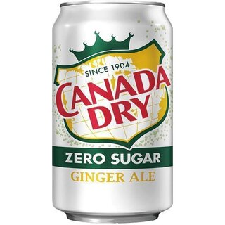 Canada Dry Diet Ginger Ale 1 x 355 ml