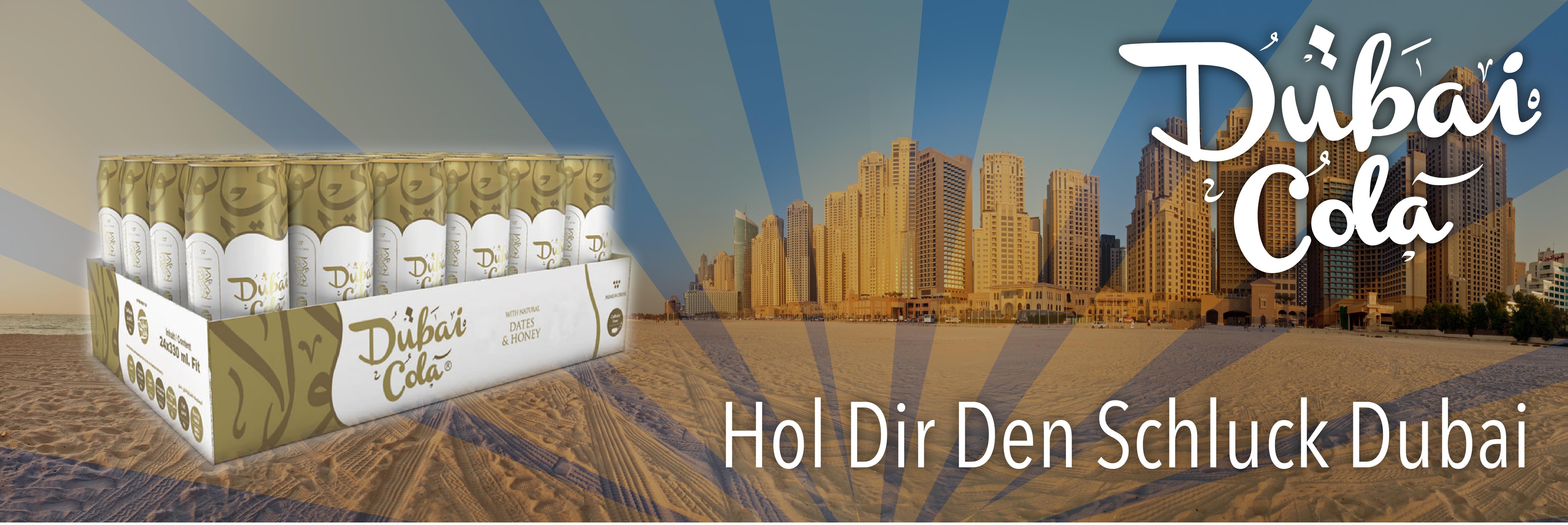 NEU IM SORTIMENT - DUBAI COLA