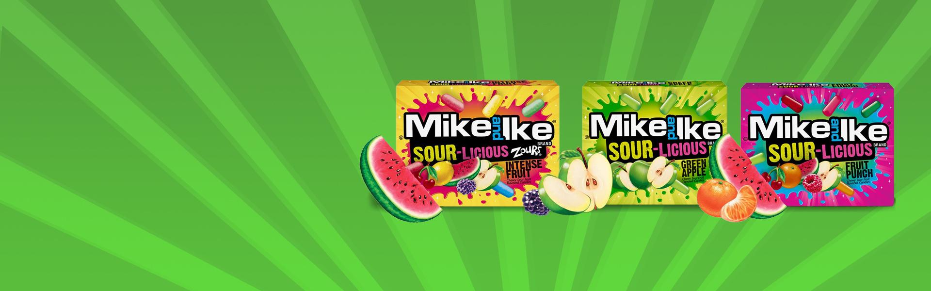 Jetzt Neu: Mike an Ike Sour Bonbons