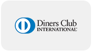Payment option Dinners Club Creditcard